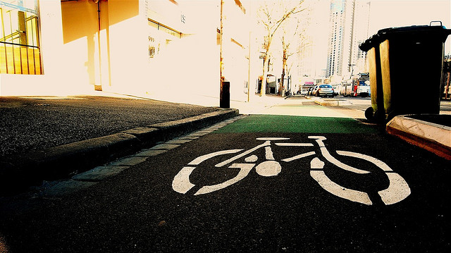 bike-lane-melbourne