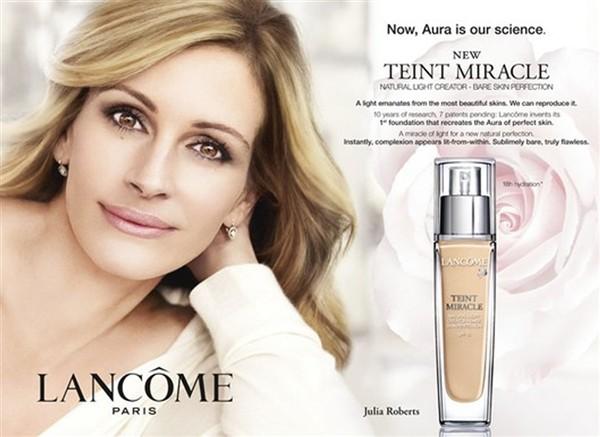analysis of cosmetic advertisement