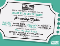 Sydney Road Assoc- Screening Nights Poster